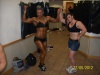 Girl with muscle - Maria Iordanopoulou (L) Basia Dimitraki (R)
