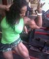 Girl with muscle - Sarahia Yanez