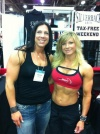 Girl with muscle - Amanda Hinton (L) - Tara Hollingsworth (R)