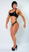 Girl with muscle - rene campbell