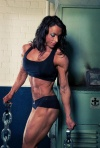 Girl with muscle - Jody Shuttleworth