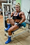 Girl with muscle - Anne Freitas