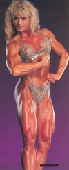 Girl with muscle - Tonya Knight