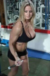 Girl with muscle - sandra johansson