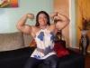 Girl with muscle - Simone Sousa