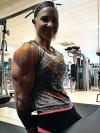 Girl with muscle - Heidi Vuorela