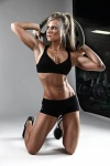 Girl with muscle - Maria Dinello