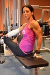 Girl with muscle - Sarka Dedkova