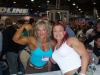 Girl with muscle - Lisa Aukland (l),Daniela Sell (r)