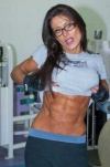 Girl with muscle - Abs