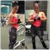 Girl with muscle - Karina Akmens