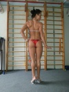 Girl with muscle - veronika galiakbarova