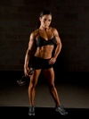 Girl with muscle - Fiona Harris