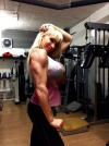 Girl with muscle - Krisztina Sereny