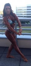 Girl with muscle - Kimberly Agnew