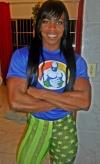 Girl with muscle - maria aparecida-bradley