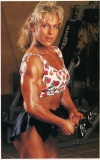 Girl with muscle - birgitta carlsson