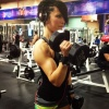 Girl with muscle - Catrina Mendez