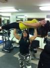 Girl with muscle - Sondra Faas
