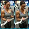 Girl with muscle - Sabrina Jones