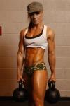 Girl with muscle - Rachel Gilmore