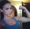 Girl with muscle - Michelle Leigh Mozek