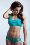 Girl with muscle - Charlene Gilbert