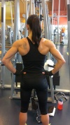 Girl with muscle - chelsey