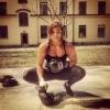Girl with muscle -  Sophie Arvebrink