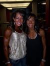 Girl with muscle - Melissa Miller Rayburn (L) - Erica Campise Schwiet