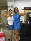 Girl with muscle - Sarah Hayes (r)