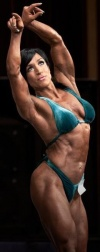 Girl with muscle - Mona Poursaleh