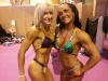 Girl with muscle - Barbara Touchais (L) Muriel Boumazza (R)