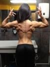 Girl with muscle - Doina Gorun