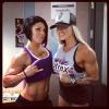 Girl with muscle - Dana Linn Bailey / Larissa Reis