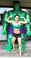 Girl with muscle - Amber Jacobs