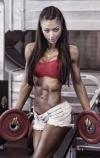 Girl with muscle - Natalia Markelova