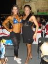Girl with muscle - Marta Aguiar (L) - Olga Maria Morales (R)