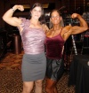 Girl with muscle - Kirsten Haug (L) - Laura  Boisacq (R)