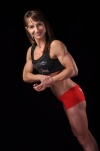 Girl with muscle - Gina M McDermott