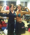 Girl with muscle - Penny Ruff (L) - Emily Johnson Ingram (R)