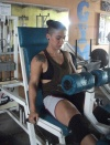 Girl with muscle - andressa
