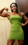 Girl with muscle - lisette acevedo