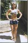 Girl with muscle - Sally Chamberland