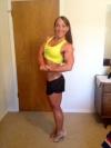 Girl with muscle - Alexandra Priputen