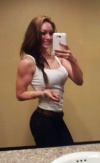 Girl with muscle - Ashley Ellen Holland