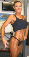 Girl with muscle - Kelly Freeman