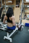 Girl with muscle - alena