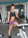Girl with muscle - anastasia