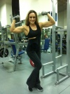 Girl with muscle - olga